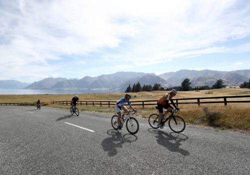 Athletes compete in the 2017 Challenge Wanaka