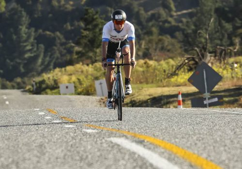 Dougal Allen competes in the 2017 Challenge Wanaka