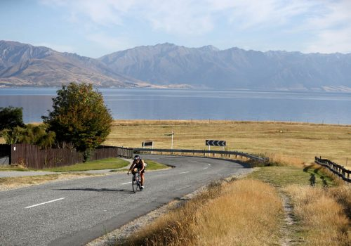 Emma Bilham of Switzerland competes in the 2017 Challenge Wanaka