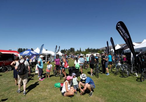The 2017 Challenge Wanaka race village