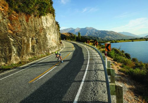 Laura Siddall competes in the 2017 Challenge Wanaka