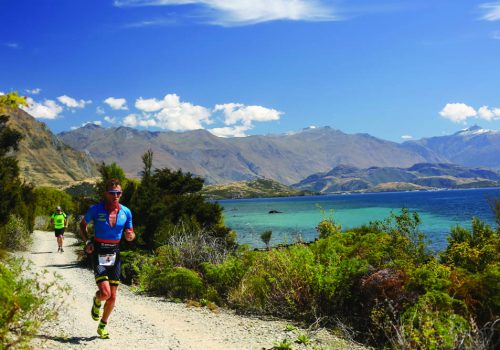 Luke Bell competes in the 2017 Challenge Wanaka