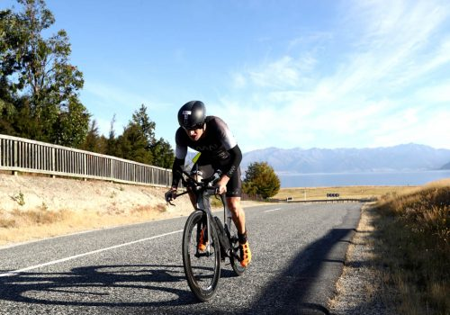 Luke McKenzie of Australia competes in the 2017 Challenge Wanaka