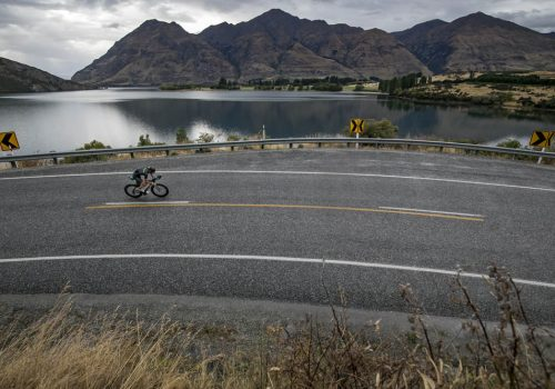 Olly Shaw of New Zealand competes during 2018 Challenge Wanaka