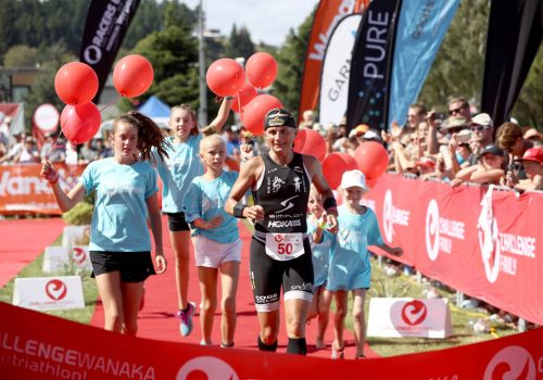 Yvonne van Vlerken of Austria wins the 2017 Challenge Wanaka