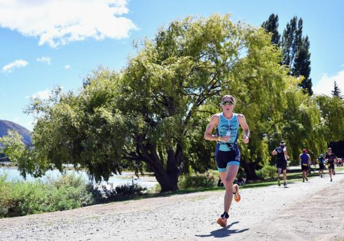 Annabel Luxford of Australia competes during 2018 Challenge Wanaka