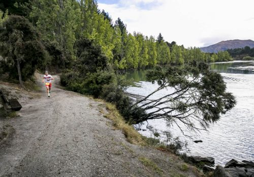 Javier Gomez of Spain competes during 2018 Challenge Wanaka