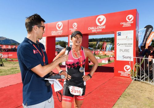 Challenge Wanaka Full Female winner Misa Klaskova of the Czech Republic