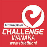 Challenge Wanaka - 2019 logo with Sponsor Integrity Homes